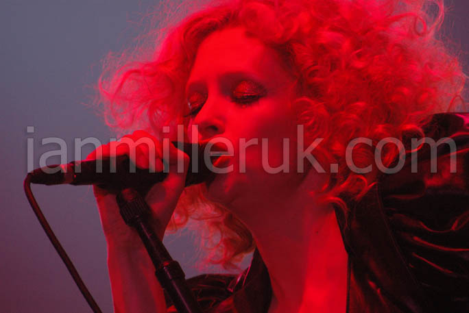 Alison Goldfrapp performs at V Festival
